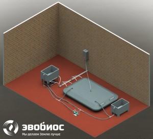 ФЕРМЕР-5 - биоустановка по переработке органических отходов с рабочим объемом реактора 5 куб. м infrus.ru