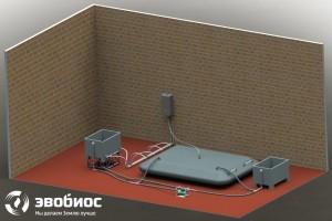 ФЕРМЕР-10 - биоустановка по переработке органических отходов с рабочим объемом реактора 10 куб. м infrus.ru